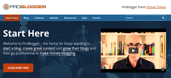 01-problogger-start-here-page