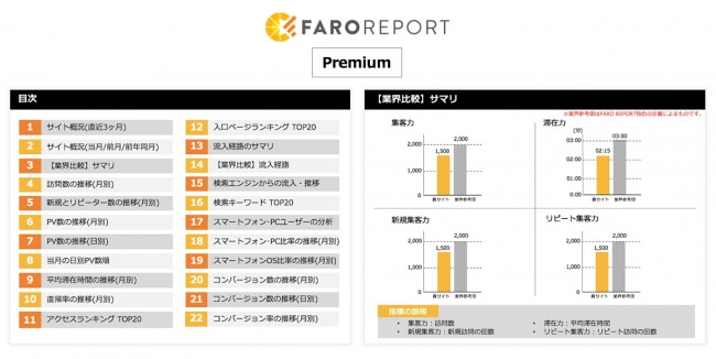 FARO REPORT