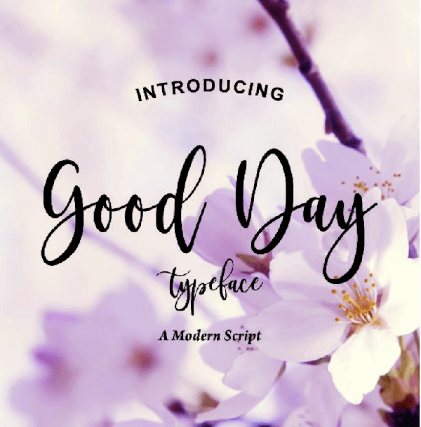 Fresh font trends for springtime